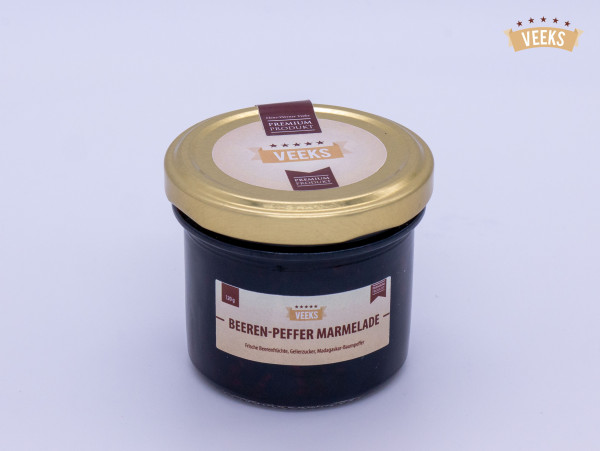 Beeren-Pfeffer Marmelade/ Veeks/ Marmelade