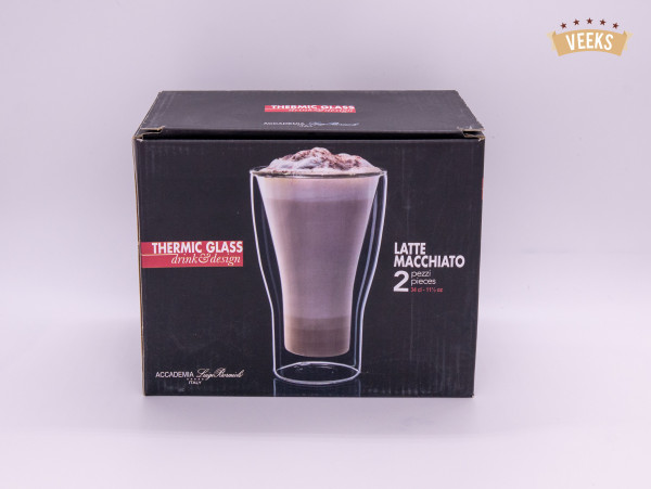 Luigi Bormioli Thermic Glass Latte Macchiato